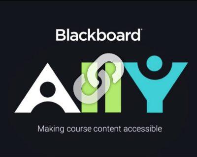 Blackboard's Accessibility Checklist