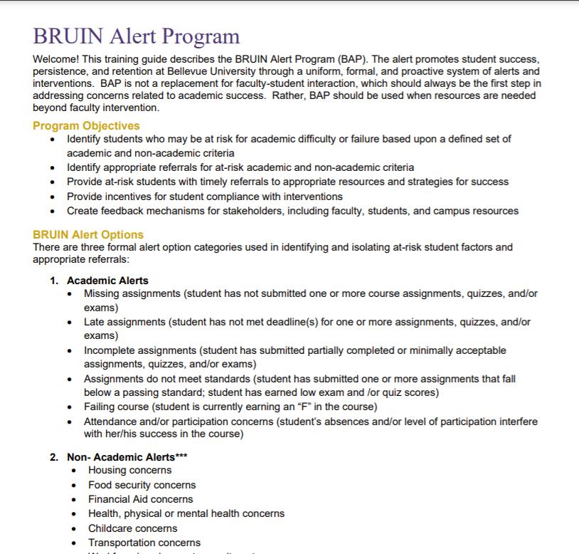 BRUIN Alert Phase II