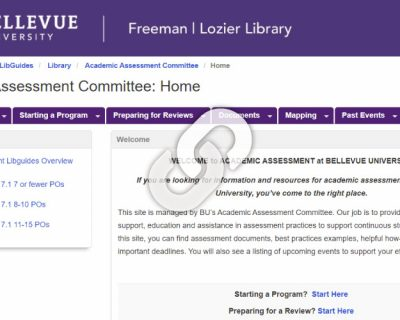 Academic Assessment Committee (AAC) LibGuide