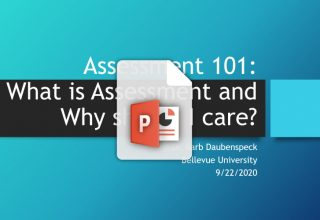 Assessment 101 PPT (automatic download)