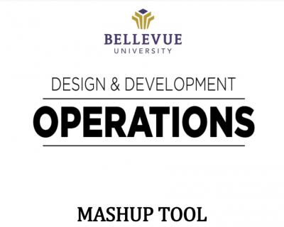 Blackboard Content Editor: Mashup Tool