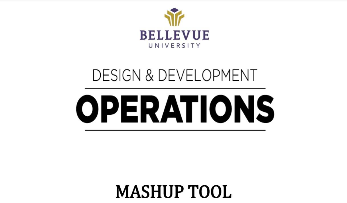 Mashup Tool