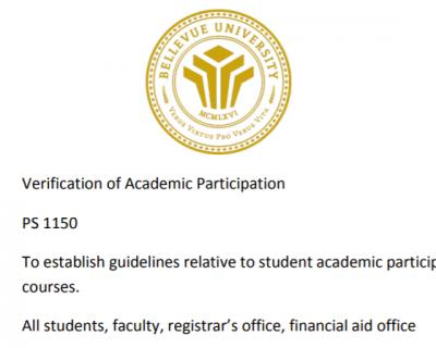 Student Participation Verification