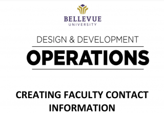 Creating Faculty Content