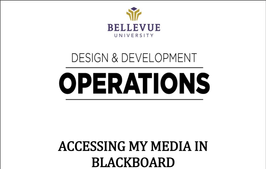 Accessing my Media
