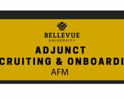 AFM: Adjunct Recruiting & Onboarding