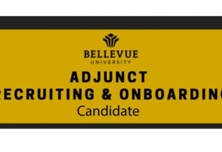 Candidate (Reference): Adjunct Recruiting & Onboarding