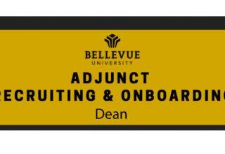 Dean: Adjunct Recruiting & Onboarding