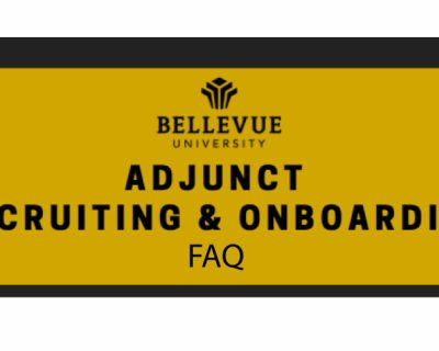 FAQ: Adjunct Recruiting & Onboarding