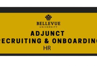 HR: Adjunct Recruiting & Onboarding